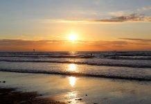 Knokke sunset
