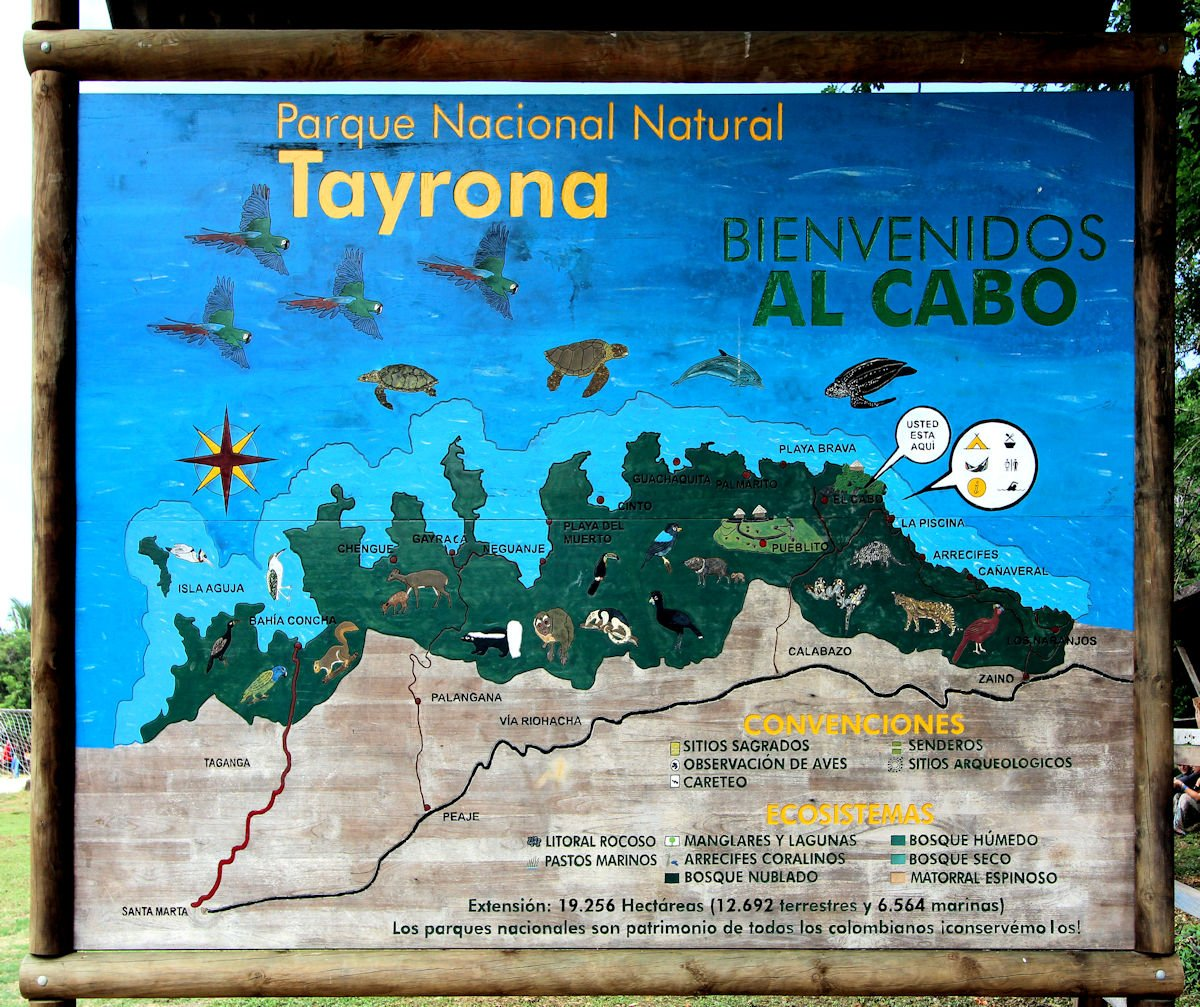 Tayrona map