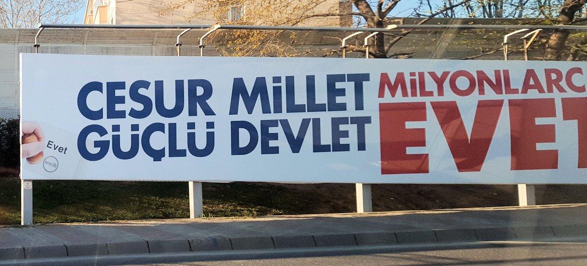 Evet billboard