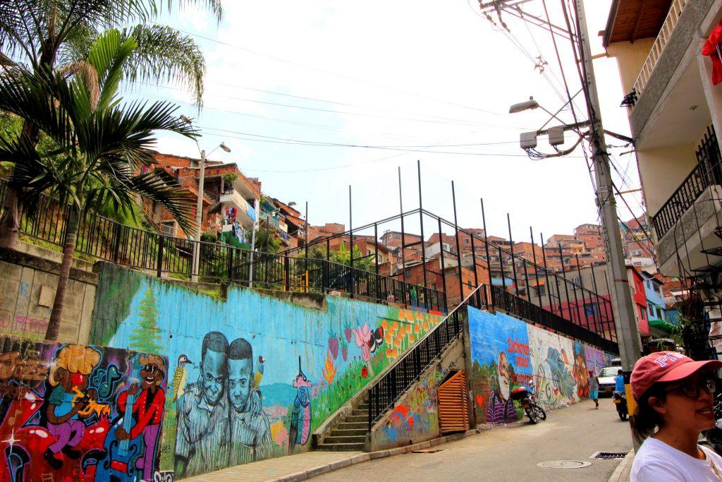 Medellin Comuna 13 Basketball Court
