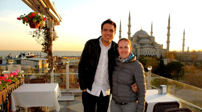 Seven Hills view Blue Mosque