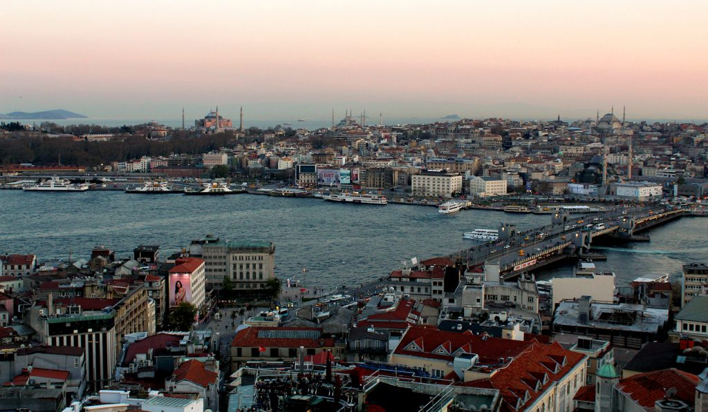 View Galata tower Istanbul