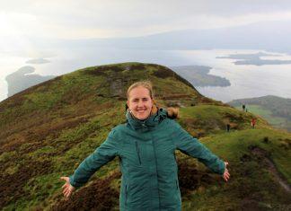 Hiking Scottish hills