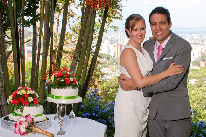 My wedding in Colombia